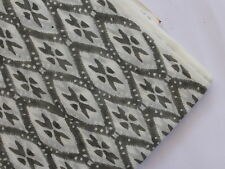 By The Yard Hand Block Print Fabric Indian Jaipur Natural Cotton Dress Material