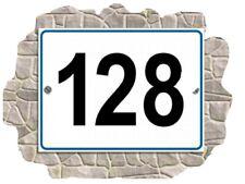 Numero Civico In Metallo Misura 10*15 Cm RESISTENTE
