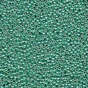 Miyuki 8/0 Glass 800 Seed Beads Japanese Rocailles Duracoat Galvanized 22 grams