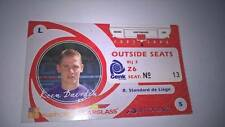 TICKET : KRC GENK - STANDARD DE LIEGE 2005-2006 OUTSIDE SEATS