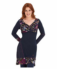 Knee Length V Neck Floral Dresses for Women