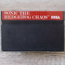 Sega Master System ► Sonic the Hedgehog caos ◄ módulo | Top