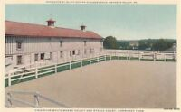 Postcard White Marsh Valley Stable Court Normandy Farm Gwynedd Valley PA