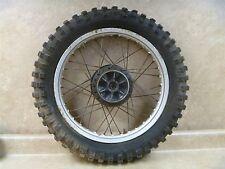 Kawasaki 125 KX AHRMA KX125 Used Rear Wheel Rim Vintage 1974 KB52 KW125