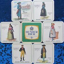 Bierdeckel Serie Unterfränkische Trachten - Brauerei Bender - Arnstein - 1979 II