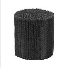 """Latch Hook Yarn - Carbon Approx 400 Strands 3ply 2.25"""" Long Use on 5hpi Canvas"""