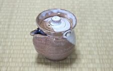 Hagi ware Senryuzan climbing kiln Japanese tea pot kyusu Daruma shiboridashi 330