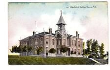 Ne - Stanton Nebraska 1908 Postcard High School