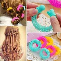 Women's Bendy Hair Styling Roller Curler Spiral Curls DIY Tool Hairdressing EW