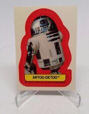 1983 Star Wars Return of the Jedi Stickers Artoo - Detoo #39 NM/M