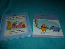 WINNIE THE POOH EASY TO READ TREASURY HARDBACK BOOK PLUS A  NEW HOUSE FOR EEYORE