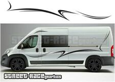 Motorhome Campervan 024 graphics stickers decal Fiat Ducato Citroen Relay Boxer