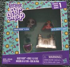 Littlest Pet Shop 1-203 Crabley 1-204 Pupson NEW