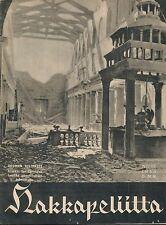Finland Wartime Magazine Hakkapeliitta 1943 #32 - WWII Catherdal of San Lorenzo