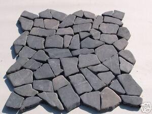 Sample Grey Interlocking Marble Tiles