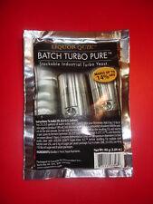 TURBO YEAST LQ BTP BATCH TURBO PURE EXPRESS MOONSHINERS HOMEBREW 18% WHISKEY 5 D