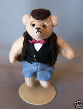 VINTAGE but NEW Handmade Marilyn Wade Mama's Babies Miniature Jointed Papa Bear