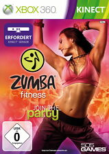 Zumba Fitness Join the Party XBOX 360 Kinect XB360