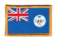 QUEENSLAND AUSTRALIA PROVINCE FLAG PATCHES COUNTRY PATCH BADGE EMBROIDERED