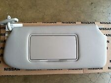 NEW OEM NISSAN SENTRA 2010-2012 DRIVERS SUNVISOR WITH VANITY MIRROR - GREY  COLOR (Fits  2010 Nissan Sentra) c1431d754ac