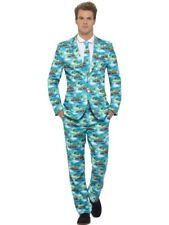 Stag Do Stand out Suits Mens Party Funny Fancy Dress Costume Comedy Aloha Large