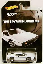 LOTUS ESPRIT S1 THE SPY WHO LOVED ME 007 JAMES BOND HOT WHEELS DIECAST 2015 '15