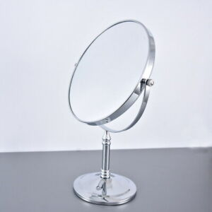 Polished Chrome Beauty Makeup Cosmetic Double-Sided Magnifying Mirror eba639