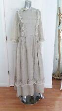 Vintage Costume Prairie Day Dress 1960's Theater Plays Reenactment