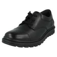 Chaussures à lacets en cuir pour garçon de 2 à 16 ans