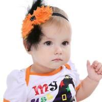 Halloween Feather sun flower Baby Bow Hairbands Baby Headband Hair Accessor Y7M1