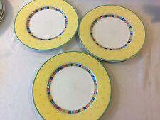 Villeroy&Boch Twist Alea Limone Gelb  3 x Speiseteller 27 cm