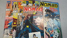 from Avengers Comic lot NOMAD 1-9 vf+ bagged