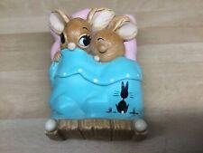 "Pendelfin Studios ""Twins"" Figurine 19cm Rabbits, Kitsch, Cute"