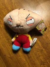 """Stewie Griffin 10"""" Family guy 2006 NANCO stuffed plush doll with tags"""