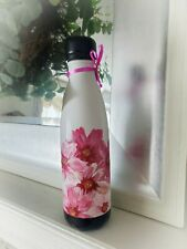 Swell Gorgeous Hand PaInted Insulated Bottle 17 oz White/Blk New