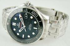 New Omega Seamaster Diver Black Ceramic 300m Steel 41mm ref. 212.30.41.20.01.003