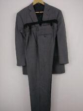 Wilke Rodriguez Charcoal Modern Fit Suit jacket 42s Pants 35Ws 3 PCS Gray color