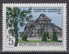 Österreich Austria 1990 ** Mi.2011 Palmenhaus Bäume Trees Palm