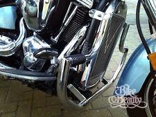 Sp) vn2000 Kawasaki Vulcan Vn 2000 Inoxidable Motor Guard Crash Bar Con Clavijas