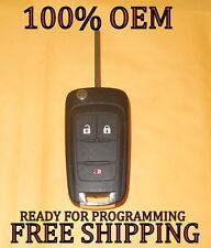 OEM GM CHEVROLET FLIP KEY KEYLESS REMOTE FOB TRANSMITTER OHT01060512 20835406