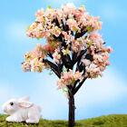 Trees for Miniature Fairy Garden Ornament Dollhouse Plant Pot Figurine Craft LJA
