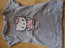 h&m Hello Kitty Kleid Tunika Pullunder strick grau Gr. 86 92