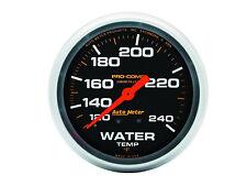 "Auto Meter 5432 Pro-Comp Liquid-Filled 2 5/8"" Mechanical Water Temperature Gauge"