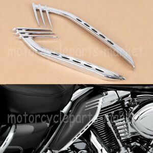 Mid-Frame Air Deflectors Trims For Harley Touring Electra Street Road Glide FLHR