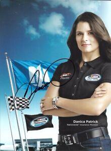 2012 Danica Patrick Nationwide Insurance Signed Auto 5.5x7.5 Post Hero Card