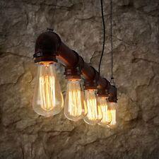 DIY Retro Vintage Industrie Anhänger Deckenlampen Kronleuchter Loft Lampe Lichts