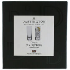 Dartington Dimple Two Pack of Highball Glasses (Boxed)