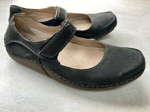 Clarks Active Air Charcoal / Black Ladies 7 Shoes