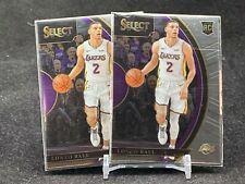 Lonzo Ball 17-18 Panini Select Concourse Rookie Card Lot2 #28 Pelicans Lakers