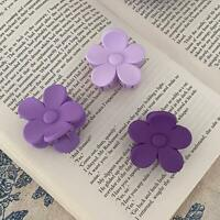 Acrylic Flower Hair Clips Hairpin Barrette Snap Bobby Pin Women Hair Accessories